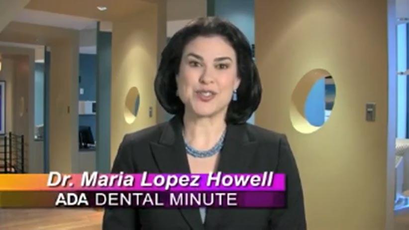 dr. lopez howell, ada dental minute, in office